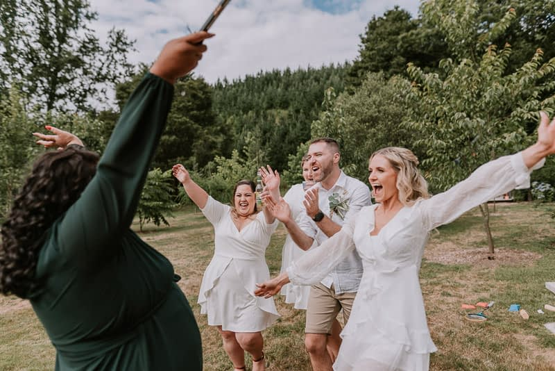 Old Forest School wedding with Luke and Emma 0532